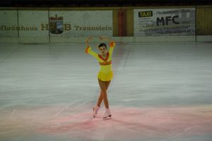 Anna Buron in a holiday show in Germany