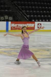 Megan at National Solo Dance 2014